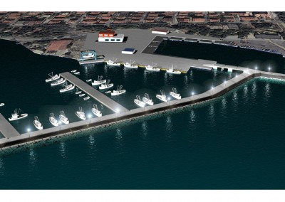 Enlargement of Fishing Port Michurin Tsarevo