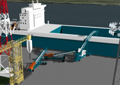 Ship loading technology