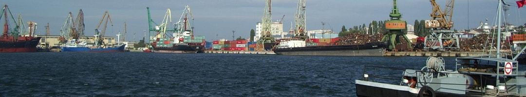 изграждане на пристанища, проектиране на пристанища